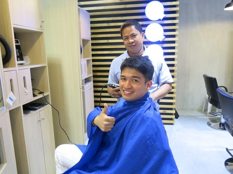 Hair stylist Barber