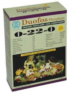 Sagrex Duofos Organic Fertilizer
