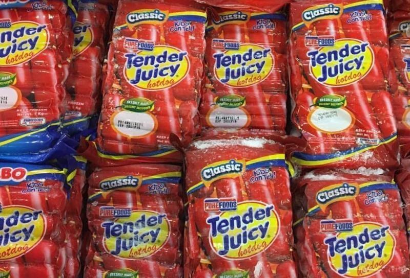 Purefoods Tender Juicy Hotdogs